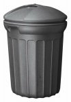 United Solutions TB0007N 32 Gallon Blow Molded Trash Can