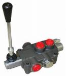 Bailey International 220940 Hydraulic Directional Control Valve, 3-Way, 2-Spool, 21 GPM