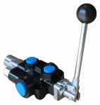 Bailey International 220997 Hydraulic Directional Control Valve, 3-Way, 2-Spool, 18 GPM