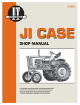 Haynes Manuals C-202 Tractor Shop Manual, Case Diesel