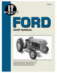Haynes Manuals FO-4 Tractor Shop Manual, Ford Series 2N, 8N & 9N