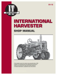 Haynes Manuals IH-10 Tractor Shop Manual, International Harvester Diesel