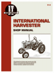 Haynes Manuals IH-8 Tractor Shop Manual, International Harvester Diesel