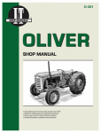 Haynes Manuals O-201 Tractor Shop Manual, Oliver