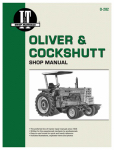 Haynes Manuals O-202 Tractor Shop Manual, Oliver