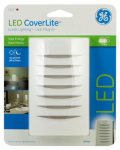 Jasco Products 11217 LED CoverLite Night Light, White