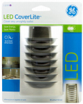 Jasco Products 11219 LED CoverLite Night Light, Nickel