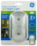 Jasco Products 11242 LED CoverLite Night Light, Chrome