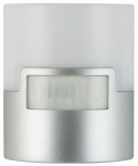 Jasco Products 29844 LED Coverlite Night Light, Motion Activated, Silver/Chrome