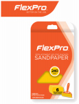 Flexpro Industries 400-06240 Sandpaper, 240-Grit, 6-Ct.