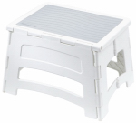 Tricam Industries RM-PL1W 1 Step Plastic Fold Stool