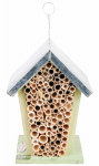 Esschert Design Usa WA02 Mason Bee House, 6 x 5 x 7.9-In.