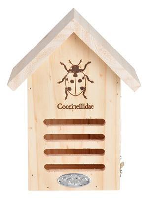 WA37 Ladybug House, 6.7 x 4.8 x 9-In. - Quantity 1