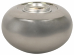 Lamplight Farms 1114145 Clean Burn Tabletop Torch, Ceramic, Silver