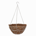 Panacea Products 83550 French Country Hanging Basket, 14-In.