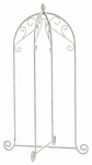 Panacea Products 88191 French Country Scroll Hanging Basket Stand, 40-In.