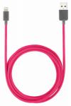 Lifeworks Technology Group IH-CT1002P 5' PNK Lightning Cable