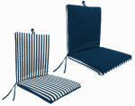 Jordan Mfg TV9701-2543/402 Clean Look Universal Chair Cushion, Reversible, Must Purchase in Quantities of 4