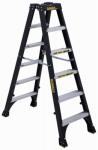 Louisville Ladder DXL3030-06 Twin Front Step Ladder, Type 1A, Fiberglass, 6-Ft.