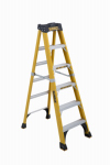 Louisville Ladder DXL3410-06 Step Ladder, 375-Lbs., Type 1AA, Fiberglass, 6-Ft.