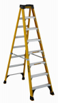 Louisville Ladder DXL3410-08 Step Ladder, 375-Lbs., Type 1AA, Fiberglass, 8-Ft.
