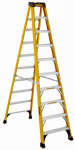 Louisville Ladder DXL3410-10 Step Ladder, Type 1AA, Fiberglass, 10-Ft.