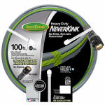 Teknor-Apex 8619-100 Neverkink Garden Hose, Heavy Duty, 5/8-In. x 100-Ft.
