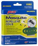 Pic C-10-12 Mosquito Repellant Coil, 10-Pk.