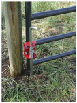 Special Speeco Products S16100200 Livestock Gate Anchor, Round Tube, 1.75 to 2-In.