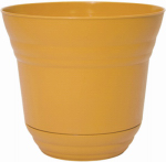 "Robert Allen PIM01203 Traverse 7"" Yellow Planter"