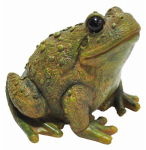 Kelkay 4438 Sitting Toad Statue, 6-In.