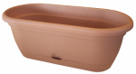 Bloem LWB1846 Lucca Self-Watering Window Box, Terra Cotta, 18-In.