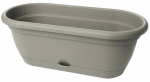 Bloem LWB1860 Lucca Self-Watering Window Box, Peppercorn, 18-In.