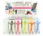 Dm Merchandising JACK-CLIP Jumping Jack Phone/Tablet Clip