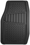 Custom Accessories 78830 Floor Mats, Truck/SUV, Black, 2-Pc.