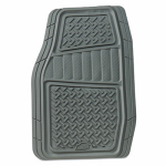 Custom Accessories 78831 Floor Mats, Truck/SUV, Gray, 2-Pc.