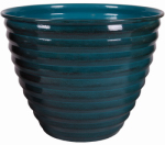 Robert Allen MPT01610 Avondale Planter, Blue, 8-In.