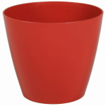 "Robert Allen PIM01279 Charlev 10"" RED Planter"