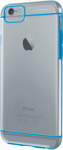 Lifeworks Technology Group IH-6P100N Sheer Clear Hardshell Case For iPhone 6, Blue