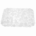 Interdesign 60660 Kitchen Sink Mat, Clear, 12 x 15.5-In.