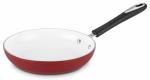 Cuisinart 5922-24R Skillet, Non-Stick Ceramic, Red, 10-In.