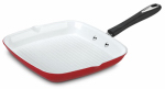 Cuisinart 5930-28GR Grill Pan, Non-Stick, Red, 11-In. Square