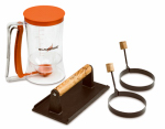 North Atlantic Imports 1543 4-Piece Griddle Breakfast Kit
