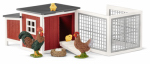 Schleich North America 42191 RED Chicken Coop