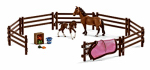 "Schleich North America 42192 7.48"" BRN Paddocks"