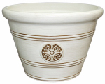 "Att Southern HDP-019305 Modes12"" Ivory Planter"