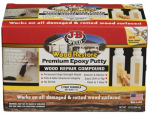 J-B Weld 40005 12OZ Wood or Wooden Restore Putty