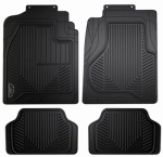 Custom Accessories 78990 Truck Floor Mat, Full-Coverage, Black Rubber