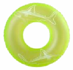 Polygroup Limited K10528000132 Inflatable Swim Ring, Glow-in-the Dark, 36-In.