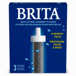Clorox Sales Co Brita Div 35818 Replacement Bottle Filter, 2-Pk.